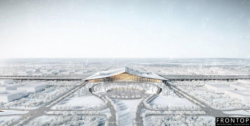 Xiong'an High Speed Railway Station