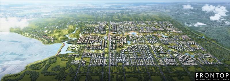 Urban Design of Xiongan Qidong District