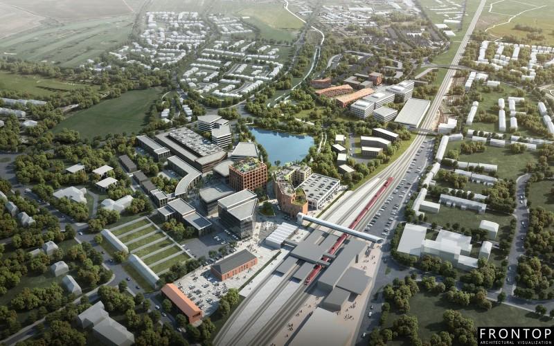 Stafford Gateway Masterplan