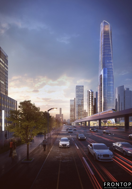 Wuhan Zhou Dafu Financial Center