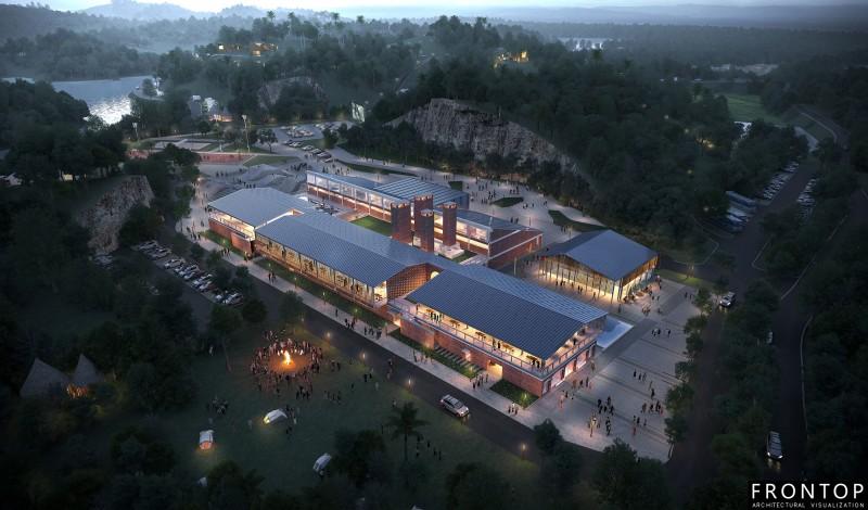 Zhongganling Automobile Camp and Brick Factory